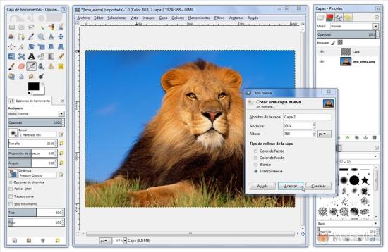 Gimp 2.8 багатомовна версія portable 64x32bit